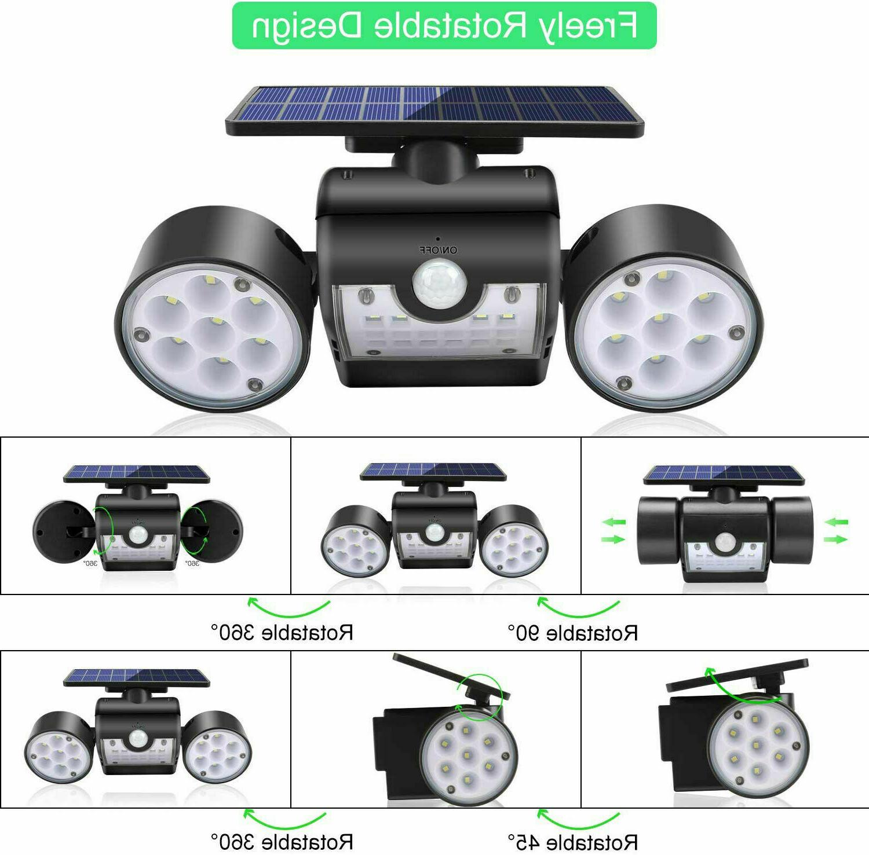 Solar Sensor Home Security Light Guardian