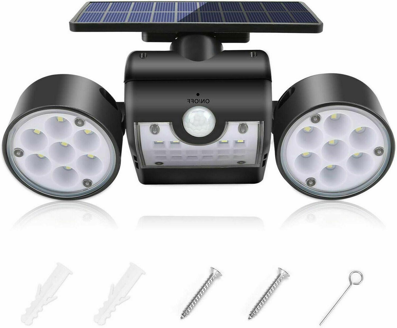 Solar Detector Guardian Torch Spotlight