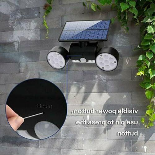 Solar Home Security Light Guardian Torch Spotlight