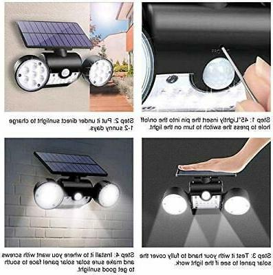Solar Home Security Light Flood Guardian