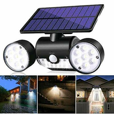 Solar Sensor Home Security Guardian Torch Spotlight