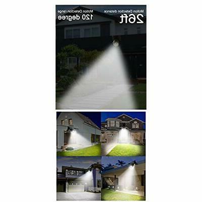 Solar Sensor Light Outdoor Spotlight Lights IP66