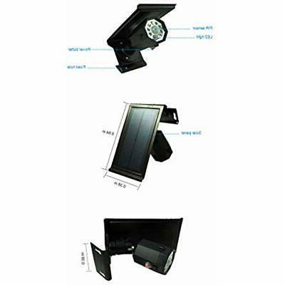Solar Motion Sensor Light Outdoor 500Lumens Spotlight Lights