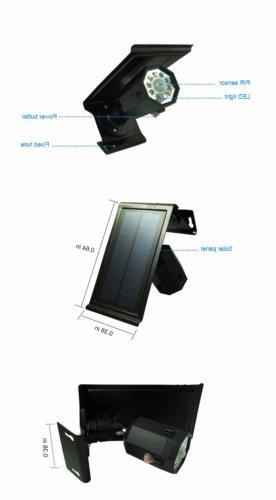 Solar Sensor Outdoor Spotlight