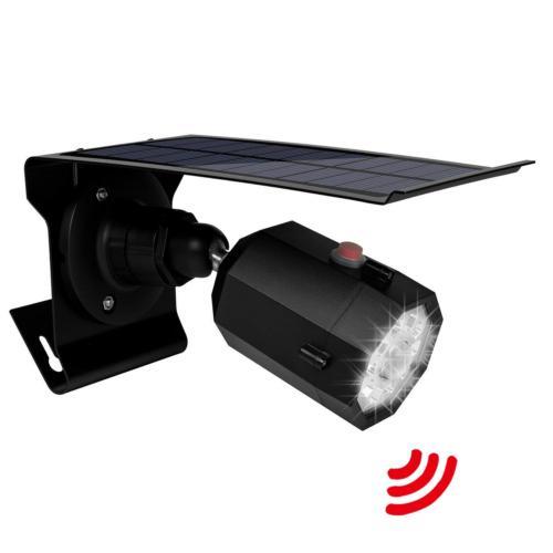 solar motion sensor light outdoor 500lumens 10