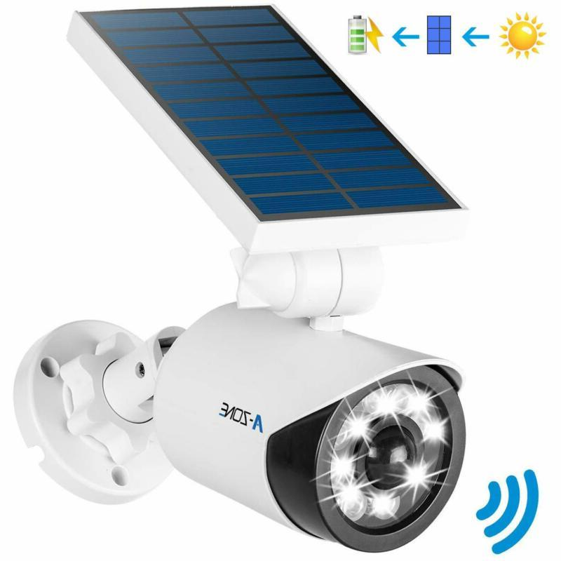 solar motion sensor light outdoor 800lumens 8