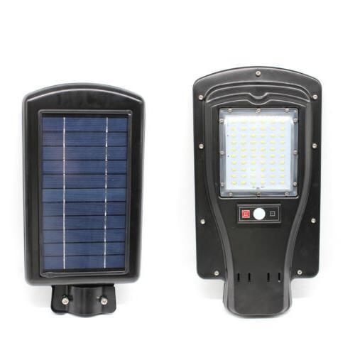 solar motion sensor security 60 led flood