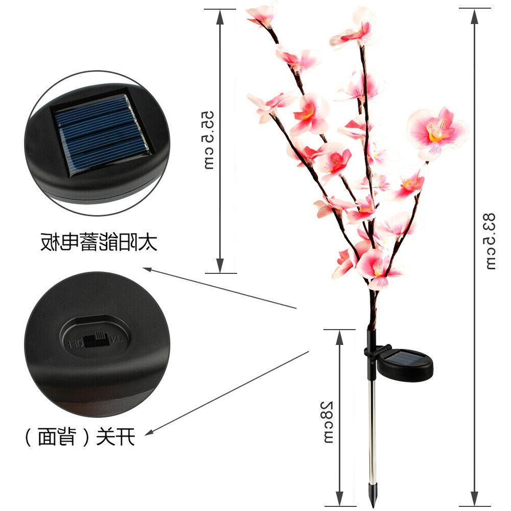 2 PCS Lights Lamp For Yard Patio