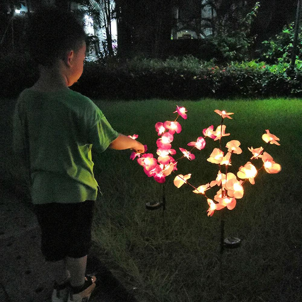 Lights Orchid Stake Lamp For Patio