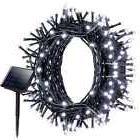 Litom Solar Outdoor 200 LED String Lights 72.18 ft Solar Dec