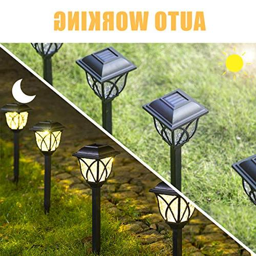 Solpex Solar Outdoor, LED Garden Lights, Landscape Lights for Lawn, Yard,