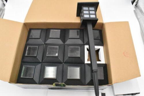 solar pathway lights outdoor 12 pack