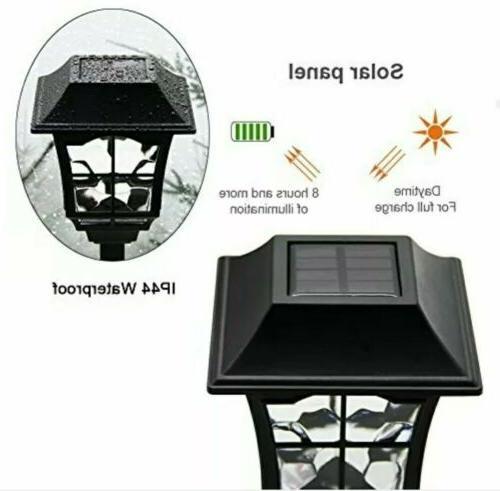 Solar Garden Lights Outdoor Landscape Pack Lumens