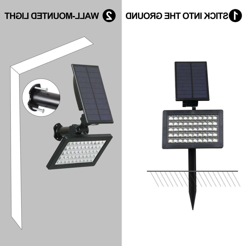 Solar Landscape Lights Pathway Lamp 960LM
