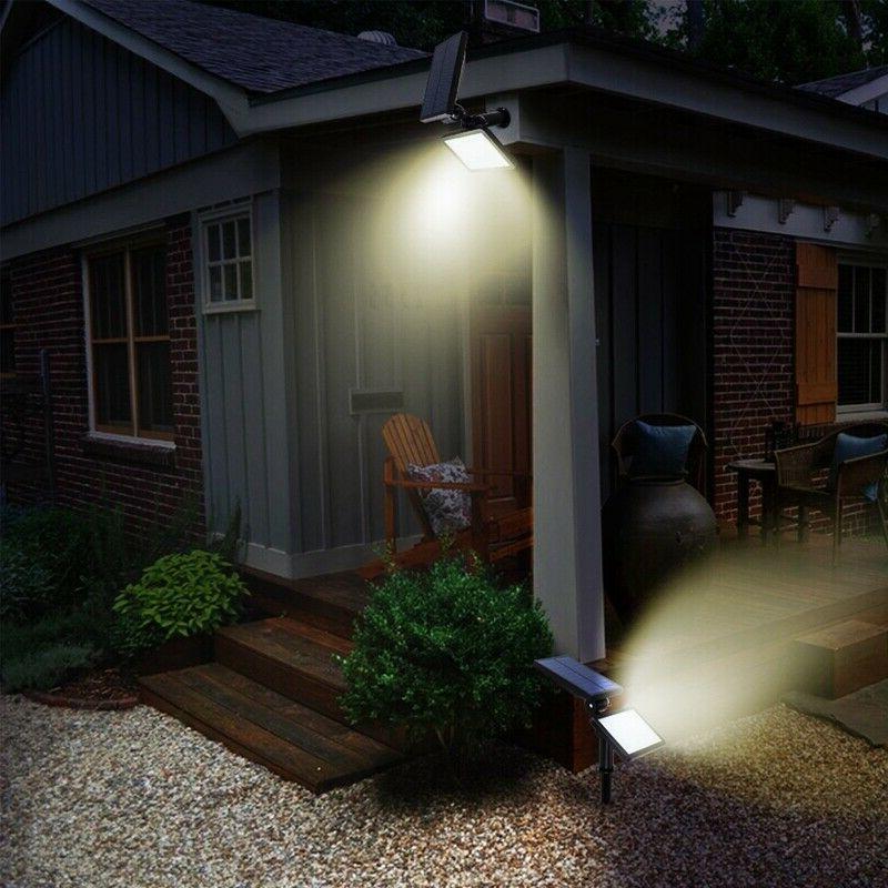 Solar Power 48-LED Landscape Pathway