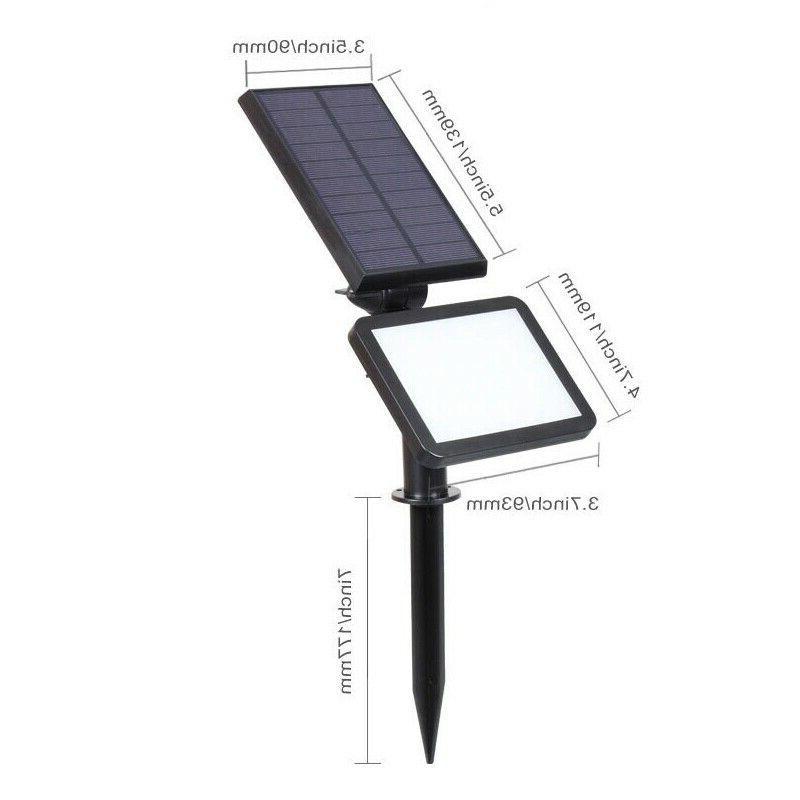 Solar Power Landscape Pathway Lamp
