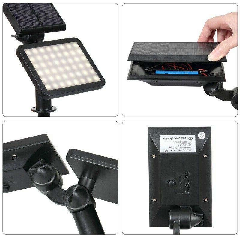 Solar Power Spotlight Landscape Lights Outdoor Pathway Lamp 960LM