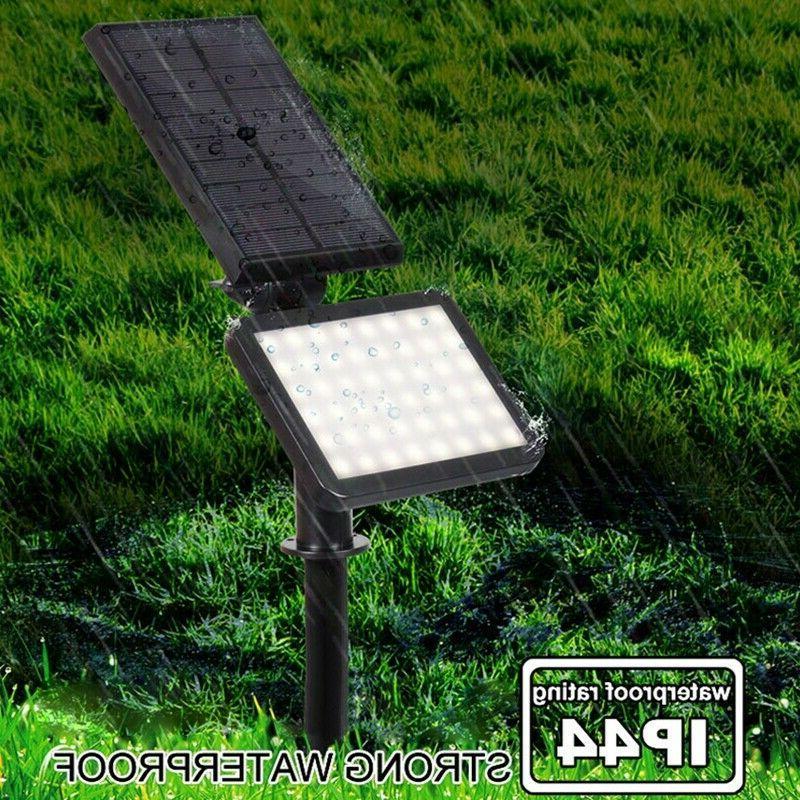 Solar 48-LED Spotlight Landscape Pathway