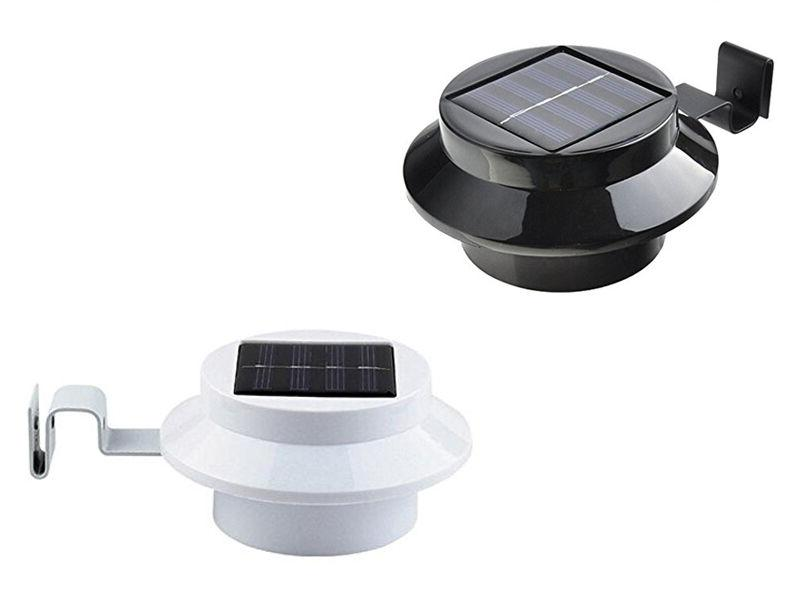 Solar Power 3LED Gutter for Outdoor Wall Porch
