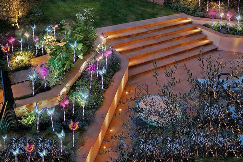Solar Yard LED Lights
