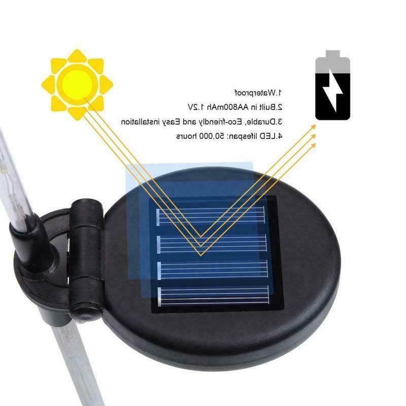 Solar Power Stake Butterfly Landscape Yard LED