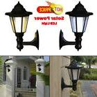 Solar Power LED Lights Path Way Wall Landscape Mount Garden