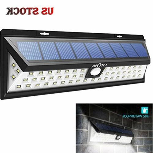 solar power light motion sensor