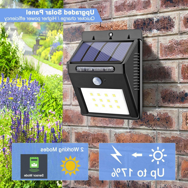 PIR Garden Security Lamp