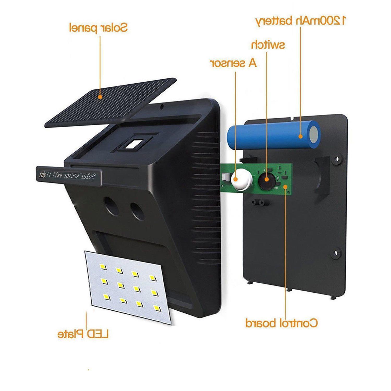 Solar Motion Sensor Outdoor