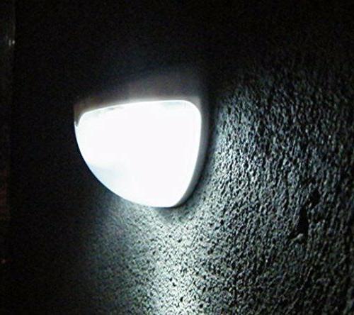 Solar Light 6 LED Light Outdoor Fence Lamp