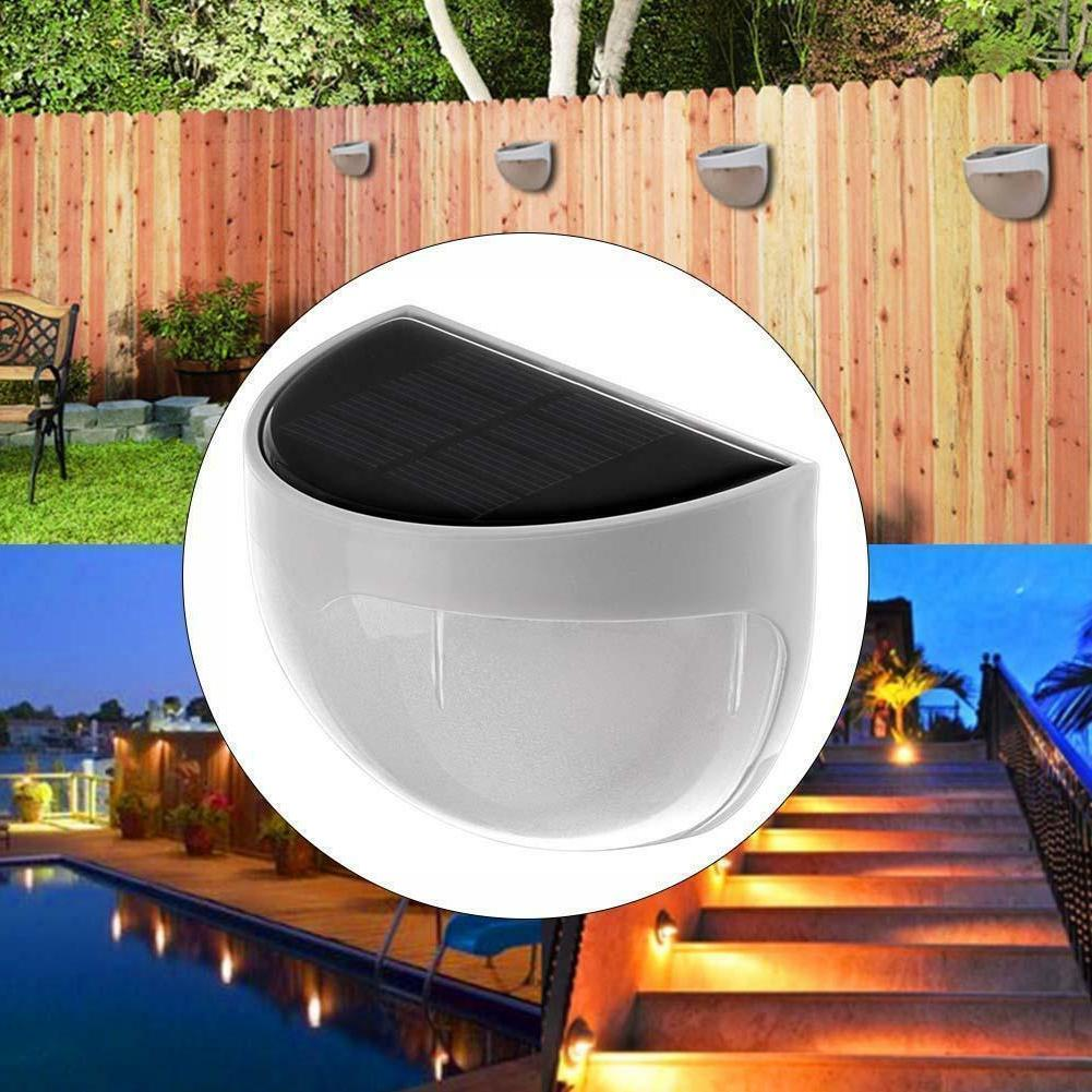 Solar Power Light Sensor 6 Outdoor Garden Lamp