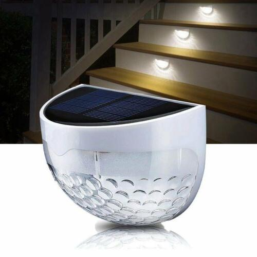 Solar Power Light LED Garden Path Landscape Lamp