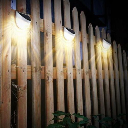 Solar LED Outdoor Garden Path Lamp