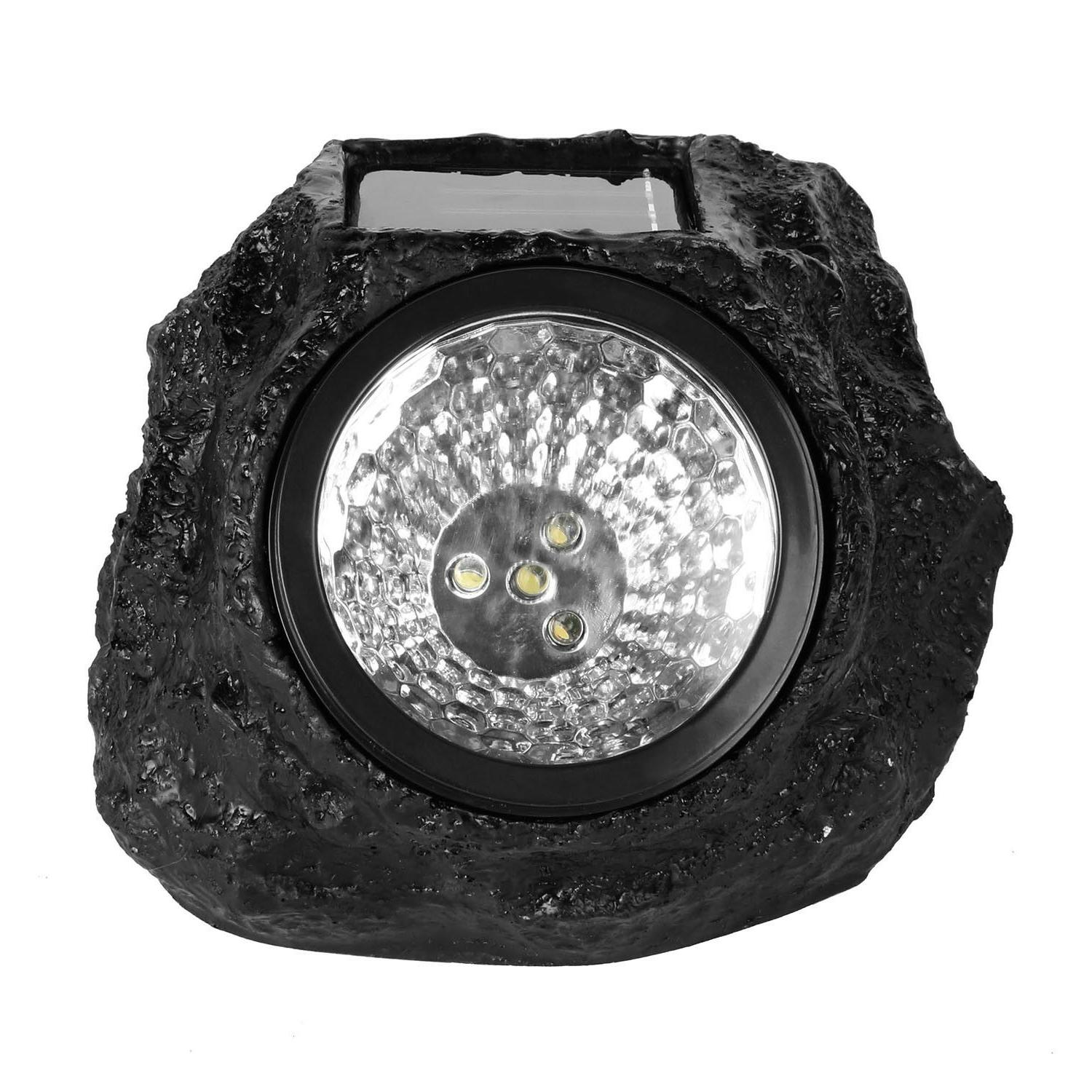 4 Solar Power Spot Light Garden Outdoor Lighting