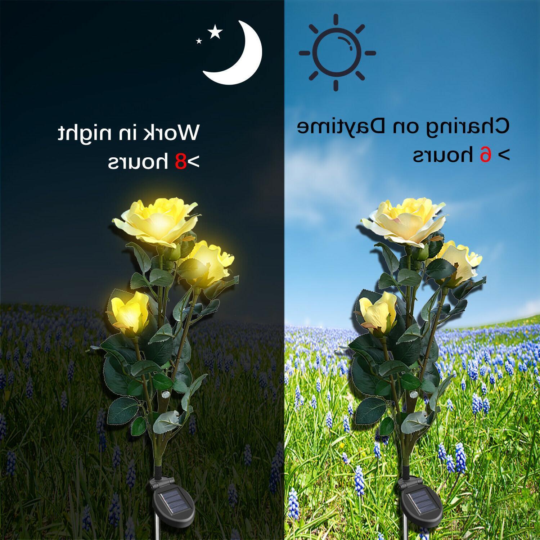 Solar Rose Garden Stake Fairy US