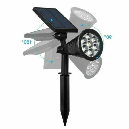 1/2/4PCS Power Lights Garden LED Lamp