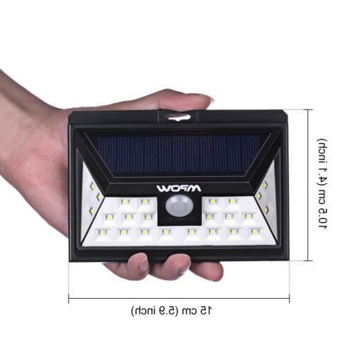 Solar Power Wireless Battery Security Spot PIR Sensor