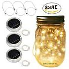 Betus  20 LEDs Mason Jar Lid String Lights with Hangers