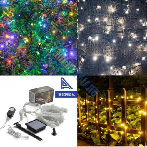 Solar Powered 108FT 300 LED String Fairy Lights Garden Outdo