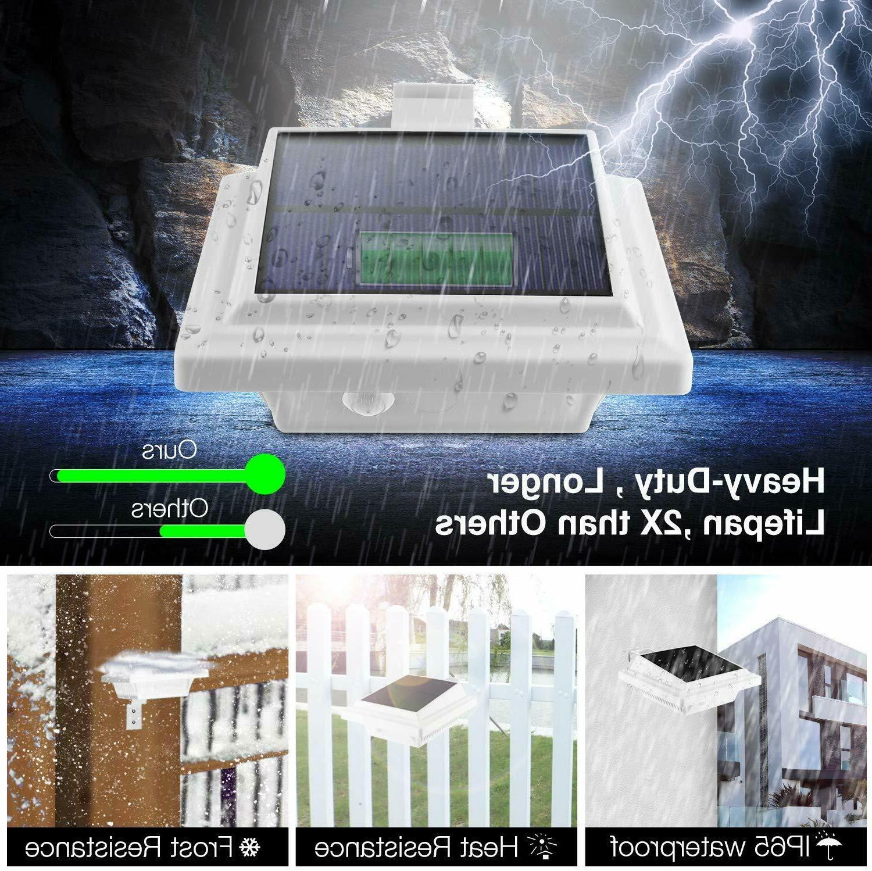 Solar Fence Gutter Outdoor Garden Lamp