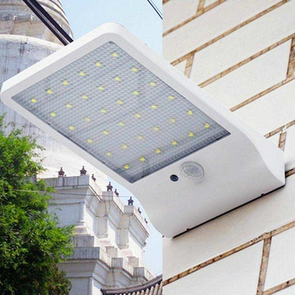 Solar 36 Motion Sensor Lamp Light