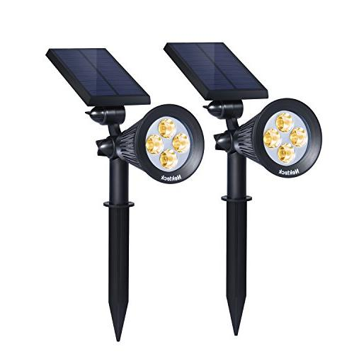 solar powered garden spotlight
