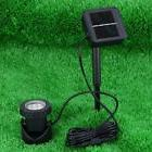 Solar Powered LED Pond Spotlight Lamp Submersible Outdoor Po