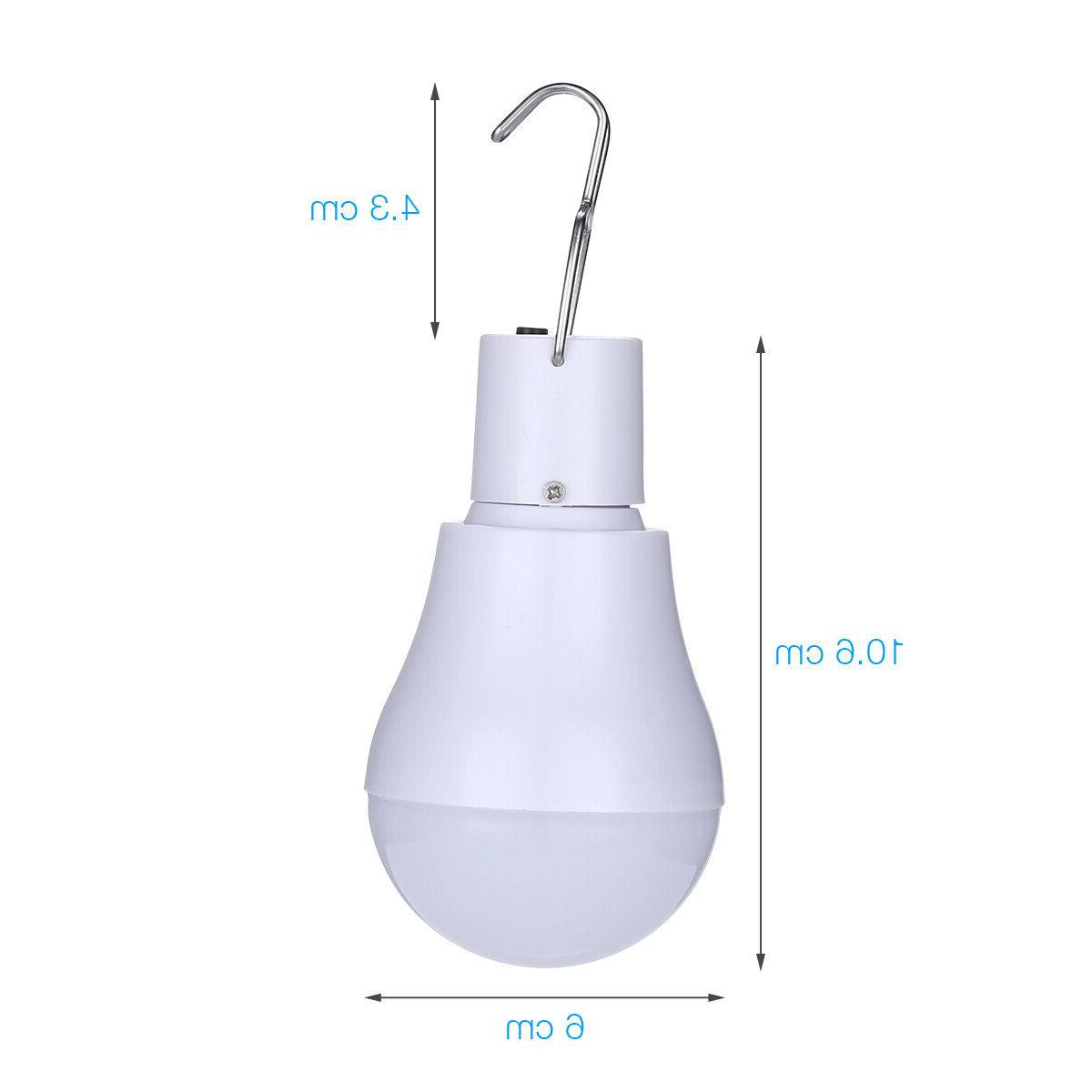 15W Powered LED Portable Bulb Outdoor Indoor