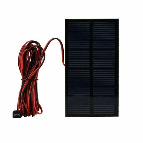 Solar Powered Panel LED Lighting Lights Portable Outdoor Indoor