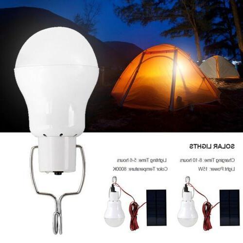 Solar Lighting Lights Portable Bulb Outdoor