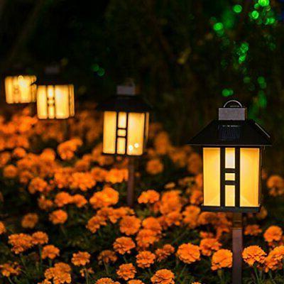 GIGALUMI Solar Powered Lights, Outdoor Garden