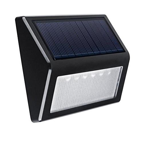 Solar LED Wall Mount Garden Lights Outdoor Patio Fence