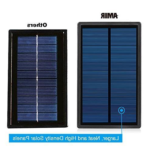 AMIR Upgraded 1 Lights, 180° Adjustable Landscape Lighting Spotlight Auto On/ Yard Garden Pool