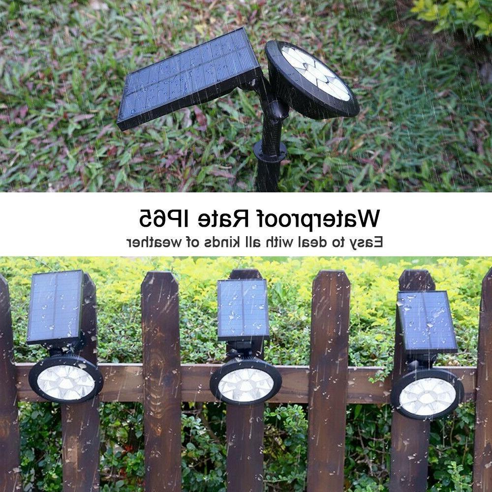 Solar Spotlights Lights Color Color Garden 2
